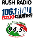 RushRadio 94.5 WGBT Greensboro 106.1 WRDU Raleigh Durham News Talk FM 600 WSJS 680 WPTF