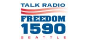 Freedom 1590 KLFE 570 KVI Seattle Sean Hannity Michael Medved Mark Levin