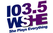 She 103.5 WSHE Miami Ft. Fort Lauderdale SuperX Super X WMIB