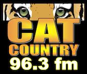 Cat Country 96.3 Max Santa SantaFM KXXN Wichita Falls Cruz CruzFM