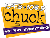 104.3 103.5 Chuck ChuckFM Appleton Green Bay WCHK WCHK-FM Woodward Christmas Station KZ1043 KZ