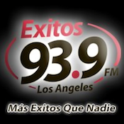 Exitos 93.9 KXOS Los Angeles Toño Esquinca Alfa 91.3 Grupo Radio Central Holly