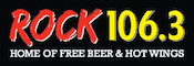 Rock 106.3 The Bone WHXR Kennebunkport Portland WBIN Media Free Beer Hot Wings