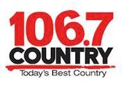 Kix Country 106.7 Kitchener Rogers Y101 101.1 Ottawa Q104 104.3 Sault Ste. Marie 93.5 Kingston