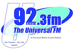 U92.3 Universal FM 92.3 KSJO San Jose San Francisco Nash
