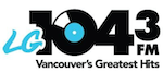LG 104.3 Shore 104 CHHR CHLG Vancouver Greatest Hits Taylor Jukes