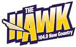 Rock 104.9 The Hawk KBOB-FM KQCS Davenport Moline Quad Cities Dave Levora Darren Pitra New Country