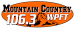 Mountain Country 106.3 The Zone WPFT Pigeon Forge Gatlinburg