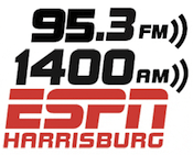ESPN Radio Harrisburg 95.3 1400 WHBG WTCY The Touch Tom Joyner Doug Banks Lancaster York Cumulus Phillies
