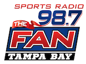 Play 98.7 The Fan WHFS 1010 Sports Justin Pawlowski Booger McFarland Todd Wright Fabulous Sports Babe Commish CBS WSJT WQYK Tampa St. Petersburg