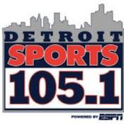 Detroit Sports 105.1 WMGC Drew Lane Rico Beard Ryan Ermanni
