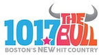 101.7 The Bull WBWL Lynn Boston B101 B101.5 WWBB Providence Cool 102 101.9 WCIB Falmouth Cape Cod