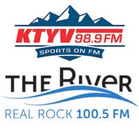 98.9 KTYV Sports FM Real Rock 100.5 The River KCOQ News Talk 105.7 KKSB