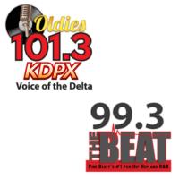 Oldies 101.3 KDPX 99.3 The Beat KBPA KHUC Pine Bluff Deltaplex